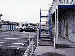 兵庫県姫路市白浜町宇佐崎中3丁目の賃貸アパートの外観