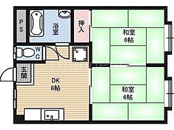 川端ビル[3階]の間取り