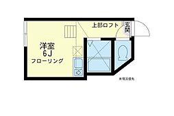 ユナイト 野島パーム・ビーチ[1階]の間取り