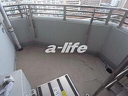 ワコーレ神戸元町アクシアのバルコニー