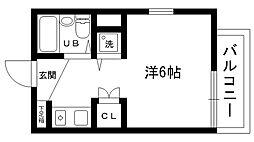 ネオディー夙川[108号室]の間取り