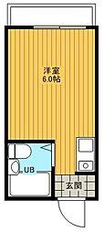 東京都足立区西保木間1丁目の賃貸アパートの間取り