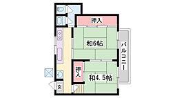 御着駅 3.7万円