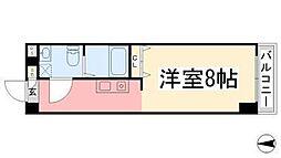カローラ東雲[306号室]の間取り