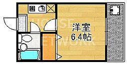 森マンション6[403号室号室]の間取り