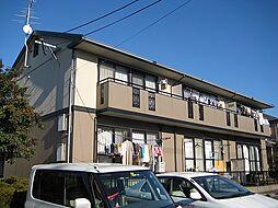福岡県古賀市舞の里4丁目の賃貸アパートの外観