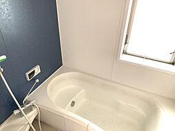 浴室乾燥機付きで、夜にお洗濯をする方でもスッキリ乾かせます