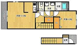 富野荘駅 6.9万円