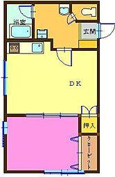 VマートマンションII[201号室]の間取り