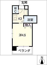 ハーモニアス高蔵寺[2階]の間取り