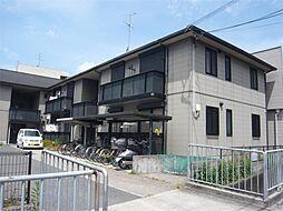 大阪府茨木市西河原2丁目の賃貸アパートの外観