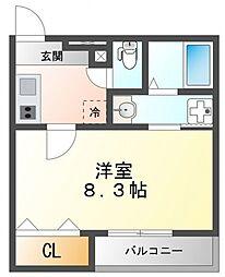 フジパレス江坂V番館[2階]の間取り