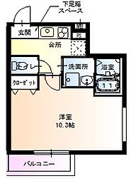 フジパレス堺鳳東6番館[205号室]の間取り