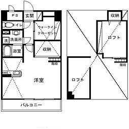 アークパル[3階]の間取り