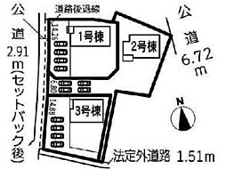 稲沢市祖父江町甲新田海道南