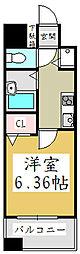 アクシーズタワー川口栄町Ⅰ[5階]の間取り