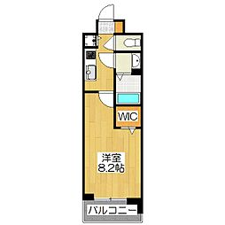 べラジオ京都一乗寺[5階]の間取り