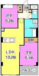 Legacy大泉[3階]の間取り