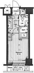 グランドガーラ高輪[12階]の間取り