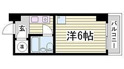 カサベラ花隈[3階]の間取り