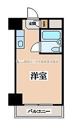 大洋ハイツ永和[3階]の間取り