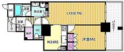 大阪福島タワー[11階]の間取り