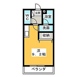 KEYAKI PALACE[1階]の間取り