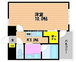 仮)春日町新築マンション[7階]の間取り