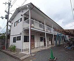 京都府京都市西京区上桂東居町の賃貸アパートの外観