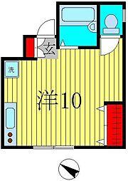 浜田本店ビル[4階]の間取り