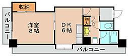 233博多II[3階]の間取り
