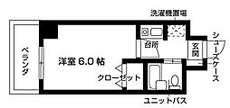 Nasic梶ヶ谷[409号室号室]の間取り