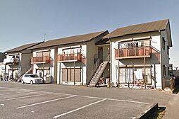 栃木県宇都宮市越戸4丁目の賃貸アパートの外観