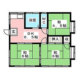 鈴木アパート[2階]の間取り