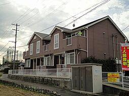 広島県広島市佐伯区坪井2丁目の賃貸アパートの外観
