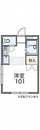 レオパレスSHIZUKA[2階]の間取り