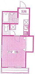 Maison Solieil[1階]の間取り
