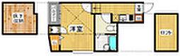 ベネフィスタウン平尾1[1階]の間取り