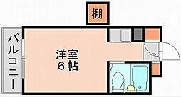 ダイナコート博多駅南[2階]の間取り
