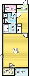 レオネクストムラヤマIII[2階]の間取り