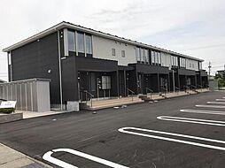 木更津市金田東1丁目新築アパート[201号室]の外観