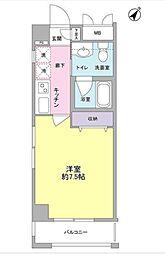 東京都大田区東雪谷3丁目の賃貸マンションの間取り