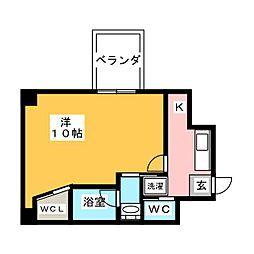 仮)下石井マンション[1階]の間取り