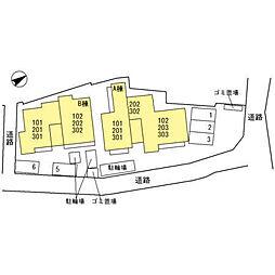 ラ メゾン ド ボヌール 桜塚 A[301号室]の外観