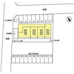 (仮)新堀D-room[2階]の外観