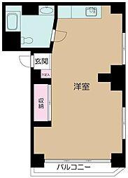 東京都新宿区新宿6丁目の賃貸マンションの間取り