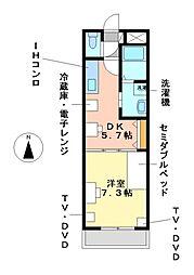 リバパレス鶴舞[10階]の間取り