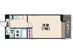 ダイナコートエスタディオ平尾駅前[5階]の間取り
