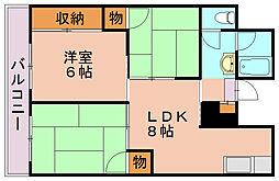 柳河内ビル[2階]の間取り