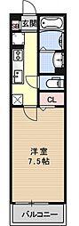 エミネンス西京極[108号室号室]の間取り